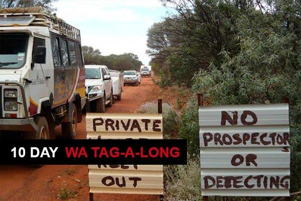 Metal Detecting Tours Western Australia