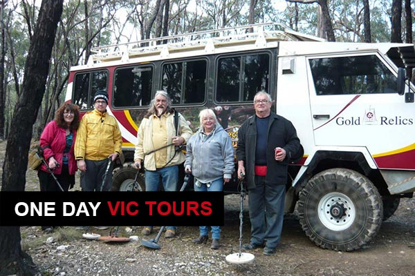 Gold Prospecting Tours in Victoria, Western Australia and